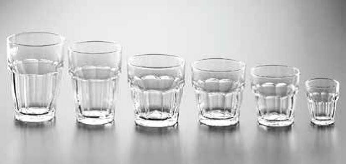 I Bicchieri Bormioli : Bicchieri quot bormioli rocco collezione rock bar impilabile