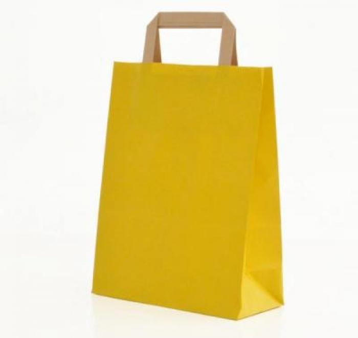 Buste di carta la cartaria for Oggetti di colore giallo
